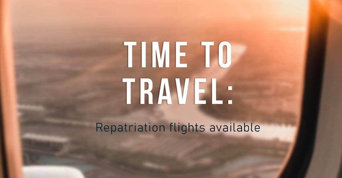 repatriation travel for south africans